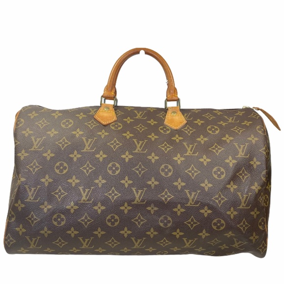 Louis Vuitton Satchel bag Speedy 40 brown monogram